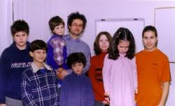 A görög iskola tanulói 2004-ben