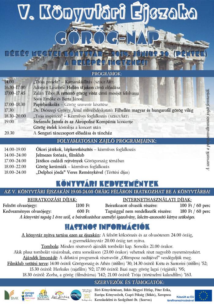 görög nap békéscsabán
