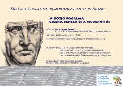 Cicero és Seneca